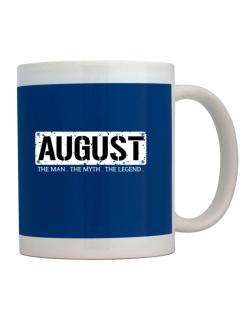 August : The Man - The Myth - The Legend Mug
