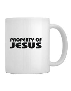 "Taza de "" Property of Jesus """