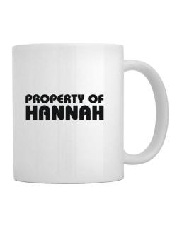 Taza de Property Of Hannah