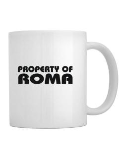 Taza de Property Of Roma