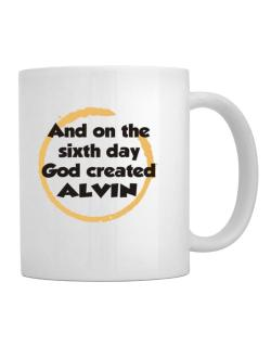 And On The Sixth Day God Created Alvin Mug