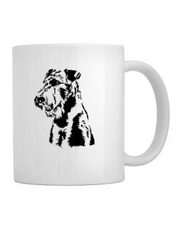 Airedale Terrier Face Special Graphic Mug