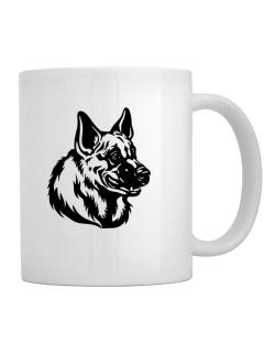 """ Belgian Malinois FACE SPECIAL GRAPHIC "" Mug"