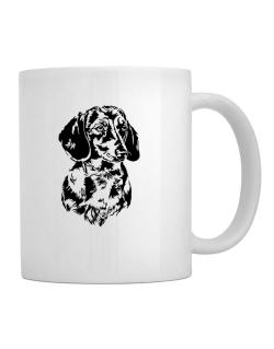 Dachshund Face Special Graphic Mug