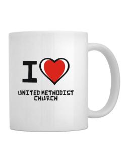 I Love United Methodist Church Mug