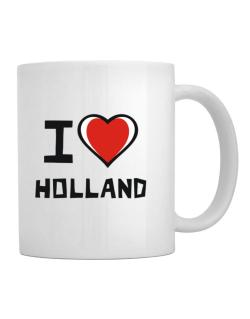 Taza de I Love Holland