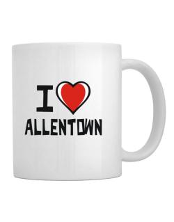 I Love Allentown Mug