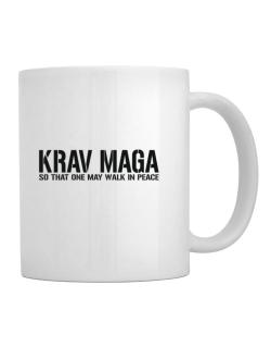 Krav Maga Walk in peace Mug