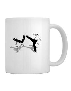 Capoeira fight Mug