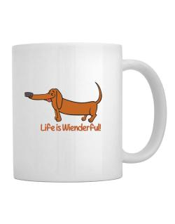 Dachshund life is Wienderful!  Mug