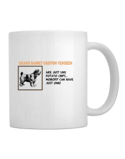 Grand Basset Griffon Vendéen are just like potato chips Mug