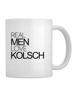 Real men love Kolsch Mug