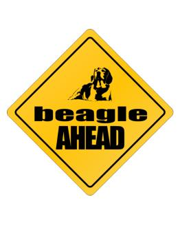 Beagle Bites Ahead ! Crossing Sign