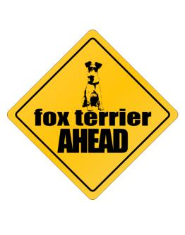 Fox Terrier Bites Ahead ! Crossing Sign