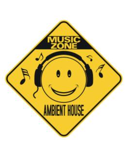Music Zone Ambient House Crossing Sign