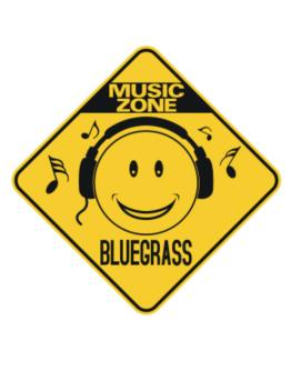 Music Zone Bluegrass Crossing Sign