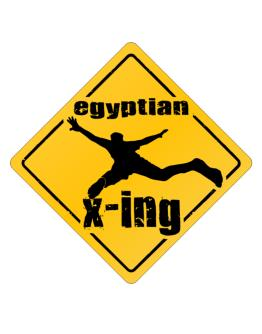 Egyptian X-ing Crossing Sign