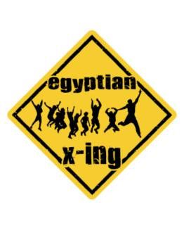 Egyptian X-ing Free ( Xing ) Crossing Sign