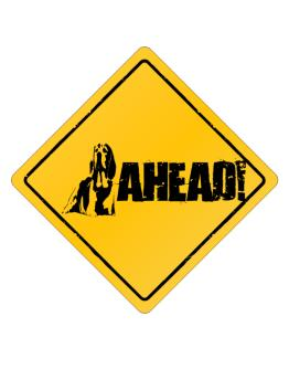 """  Beagle - AHEAD !  "" Crossing Sign"