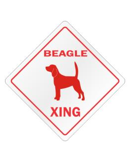Beagle Xing Crossing Sign