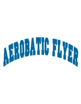 Aerobatic Flyer Athletic Parking Sign