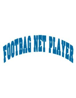 Footbag Net Player Athletic Parking Sign