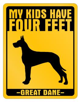 My Kids have Great Dane Parking Sign