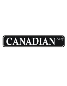 Canadian Alley Street Sign