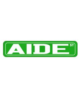 Aide St Street Sign