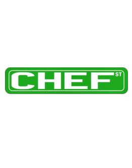 Chef St Street Sign