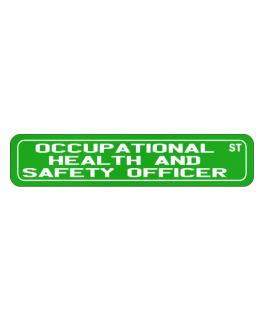 Occupational Medicine Specialist St Street Sign