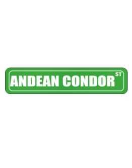 Andean Condor Street Sign Street Sign