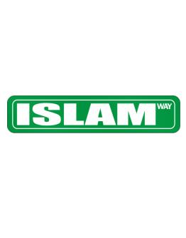 Islam Way Street Sign