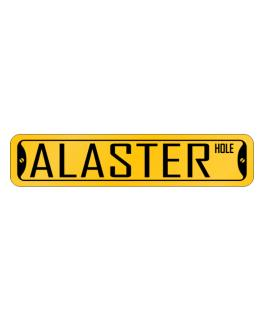 Alaster Hole Street Sign