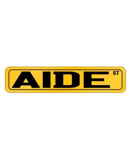 Aide Street Street Sign