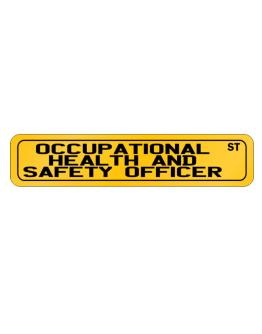 Occupational Medicine Specialist Street Street Sign