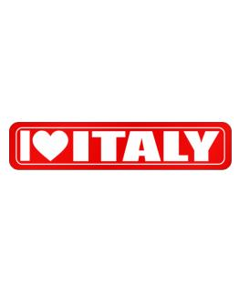 Street Sign de I Love Italy Simple