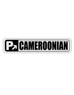 Parking Up Cameroonian Street Sign