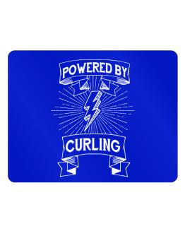 Powered by Curling Parking Sign - Horizontal