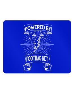 Powered by Footbag Net Parking Sign - Horizontal