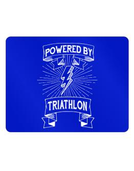 Powered by Triathlon Parking Sign - Horizontal