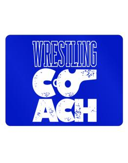 Wrestling Coach Parking Sign - Horizontal