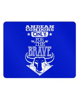 Andean Condors Only for the Brave Parking Sign - Horizontal