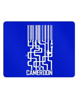 Barcode Cameroon Parking Sign - Horizontal