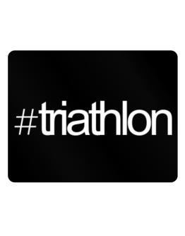 Hashtag Triathlon Parking Sign - Horizontal