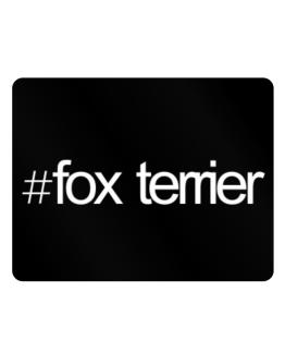 Hashtag Fox Terrier Parking Sign - Horizontal