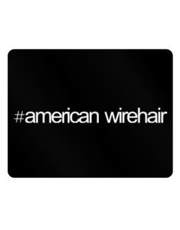 Hashtag American Wirehair Parking Sign - Horizontal