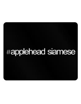 Hashtag Applehead Siamese Parking Sign - Horizontal