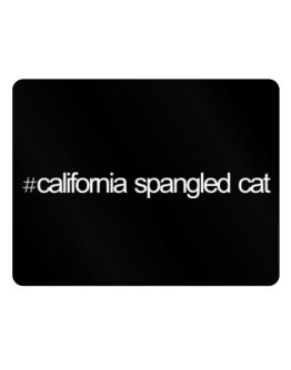 Hashtag California Spangled Cat Parking Sign - Horizontal