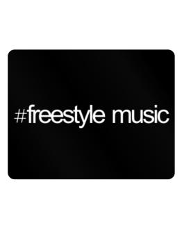 Hashtag Freestyle Music Parking Sign - Horizontal